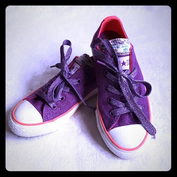Converse Other - 💜DISC SHIP💜Converse All Star Glitter MultiTongue aaf730e37